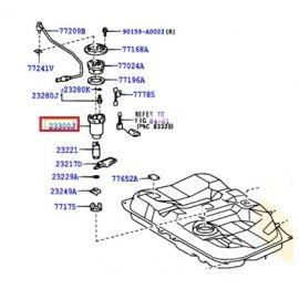 Фильтр топливный Toyota Camry v40 (2006-2011)