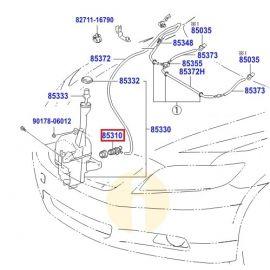 Насос омывателя Toyota Camry v40 (2006-2011)