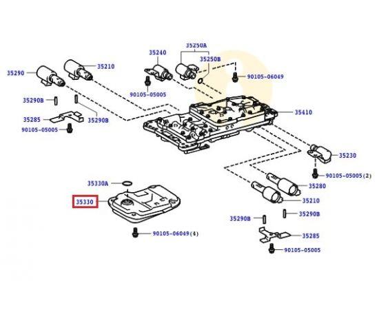 Фильтр АКПП Toyota Prado 150 (2009-н.в.)