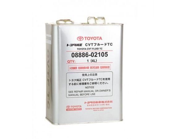 Масло (жидкость) для вариатора Toyota CVT Fluid TC (4 л.)